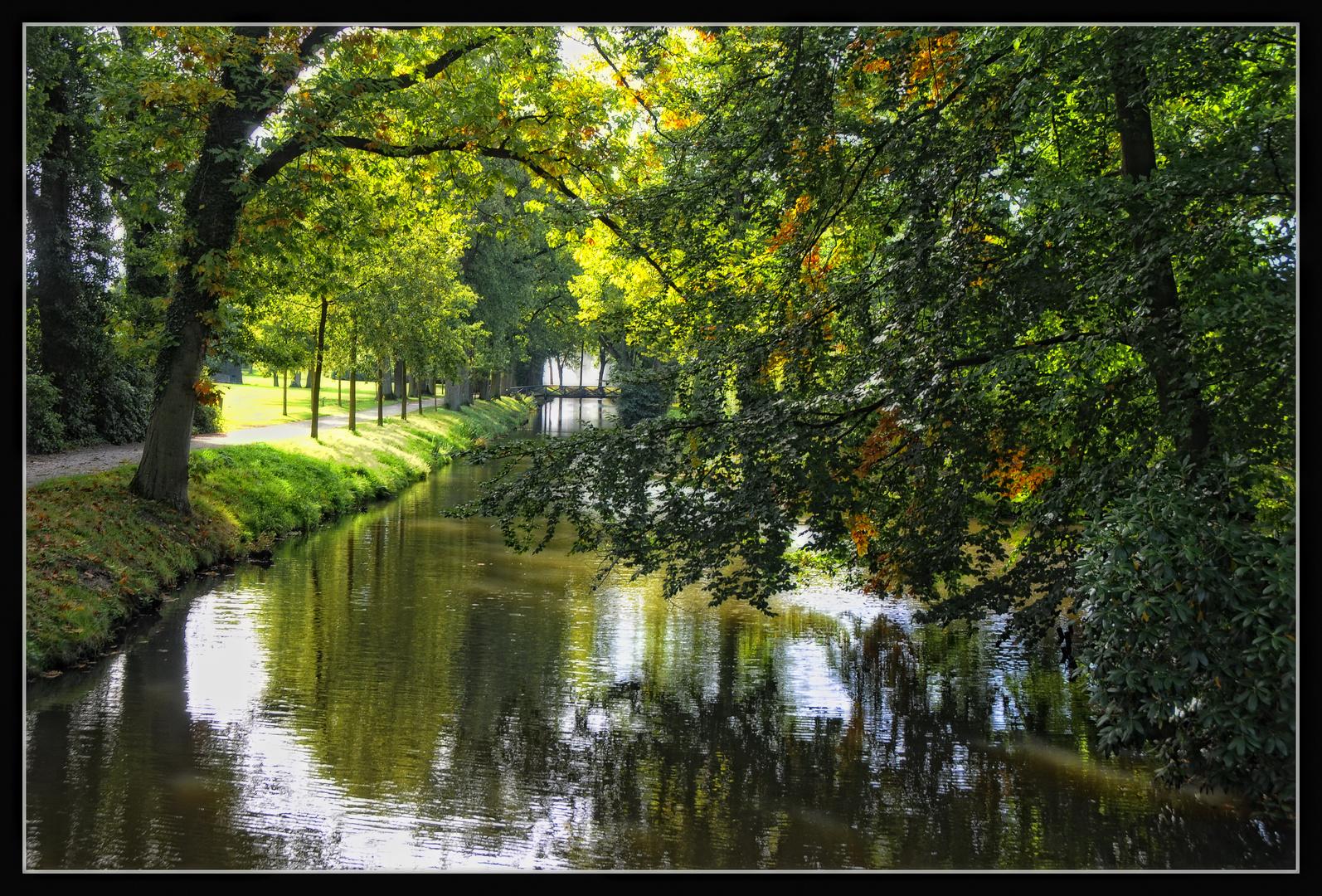 Arcen: Im Schlosspark