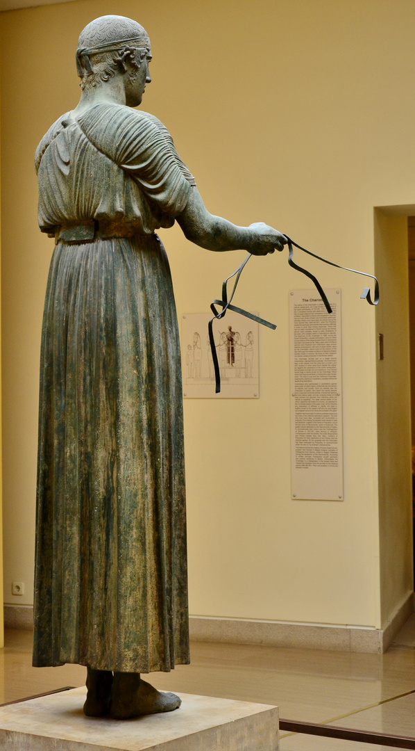 Archaeological Museum of Delphi. the charioteer