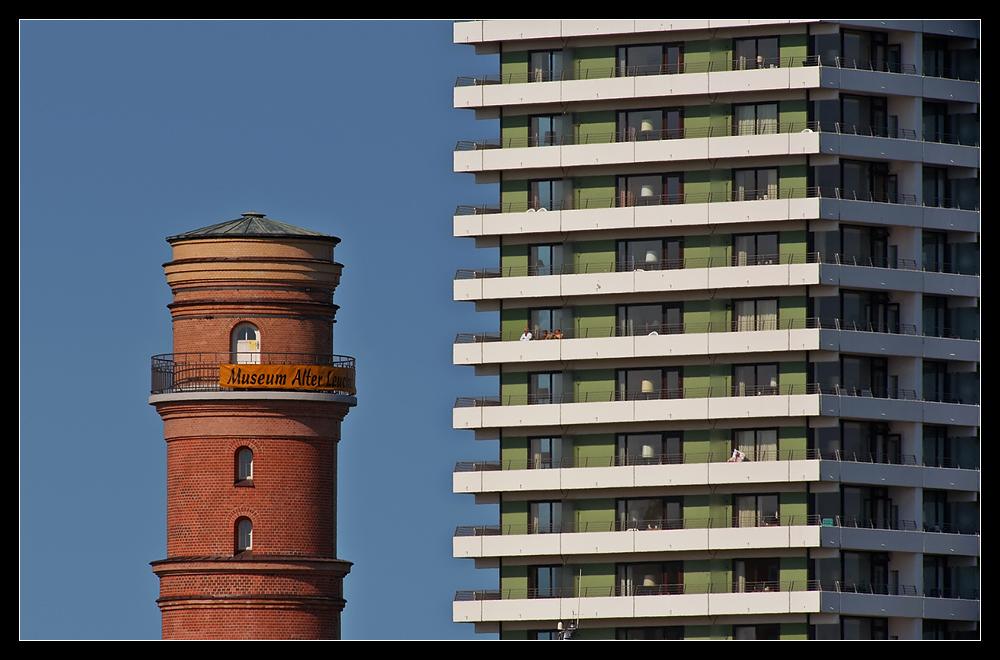 Architektonische Gegensätze