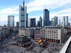 Architektonische Kontraste in Frankfurt am Main - Contrastes architecturaux à Francfort-sur-le-Main