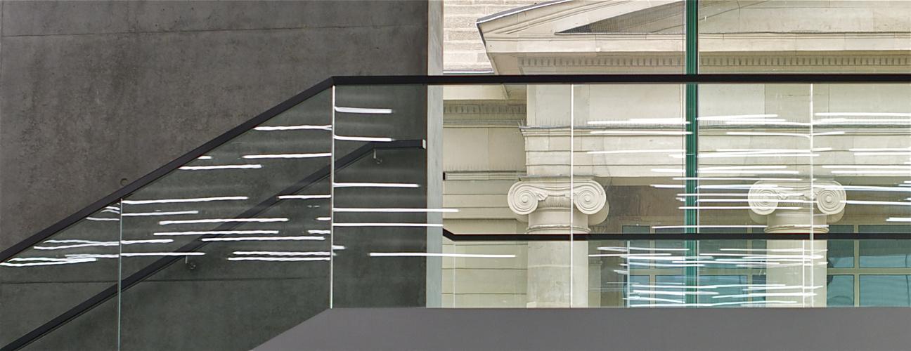 architektonischer Kontrast
