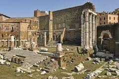 Archologische Ausgrabungen des alten Roms