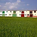 Arco iris rural.