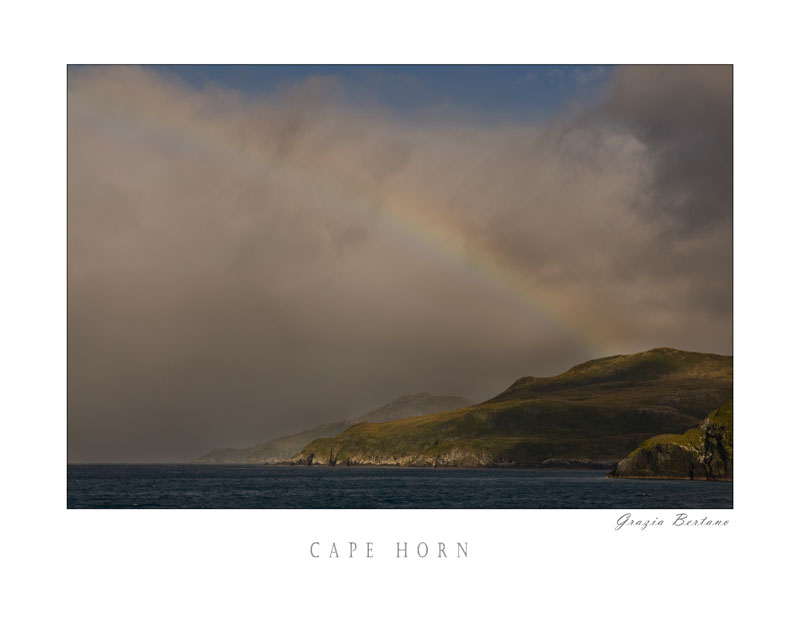 Arcobaleno nel Parque Nacional de Cabo de Hornos