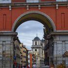 Arcos de Plaza Mayor.