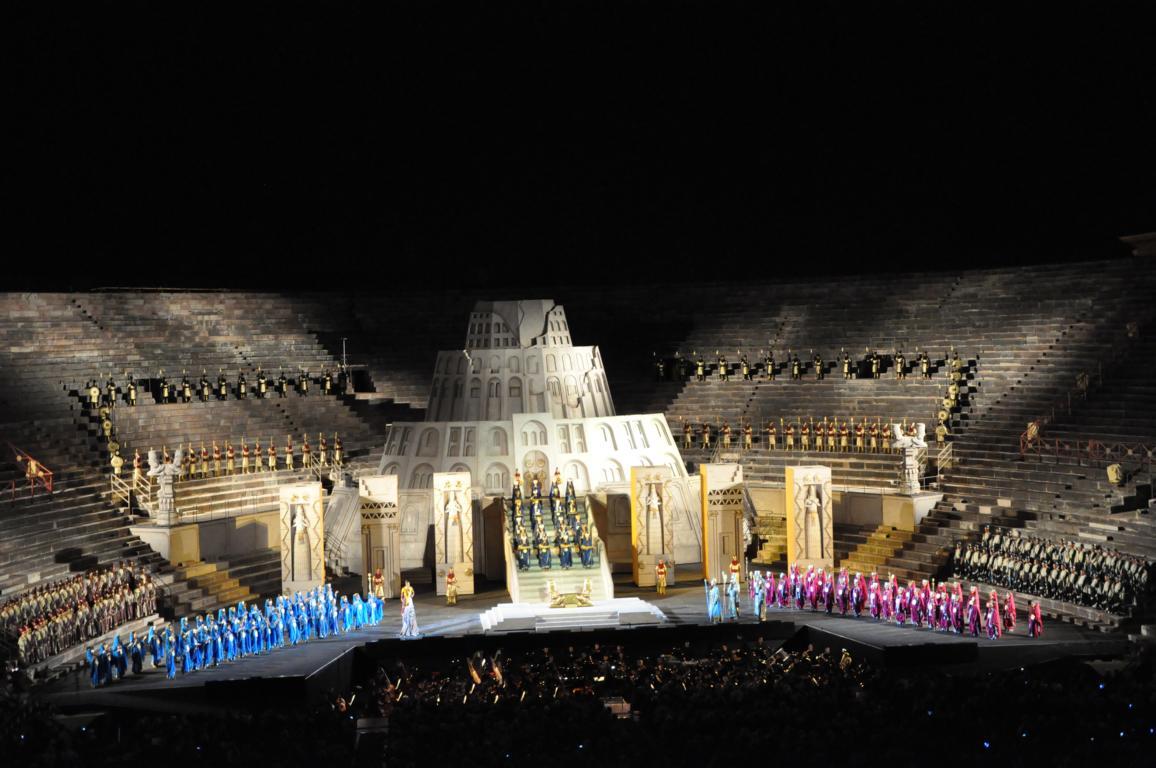 Arena di Verona - Nabucco Aufführung
