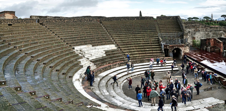 Arena von Pompeje