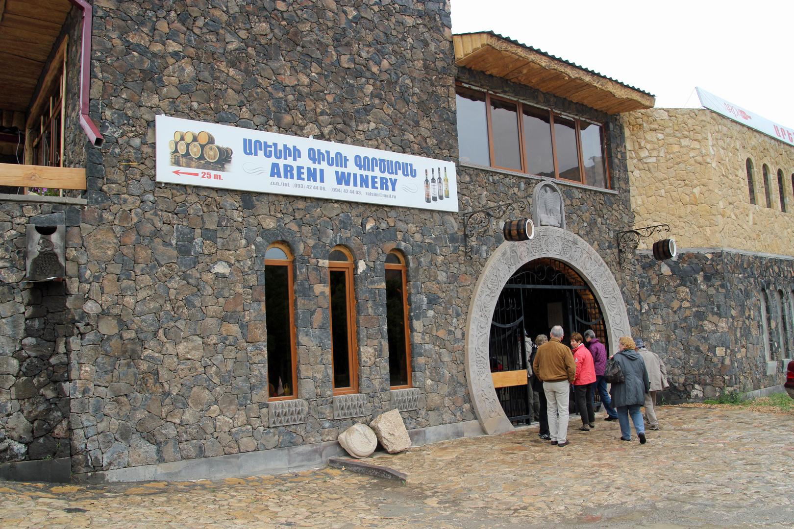 Areni, Armenien: Besuch einer Winzerei