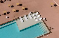 Aria Resort, Pool, Las Vegas, USA