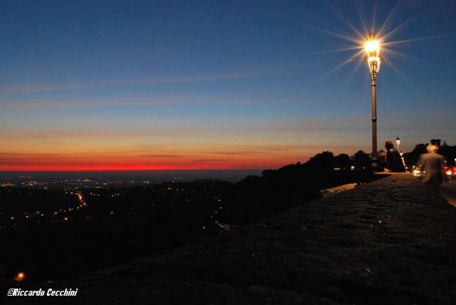 ... Ariccia by night!