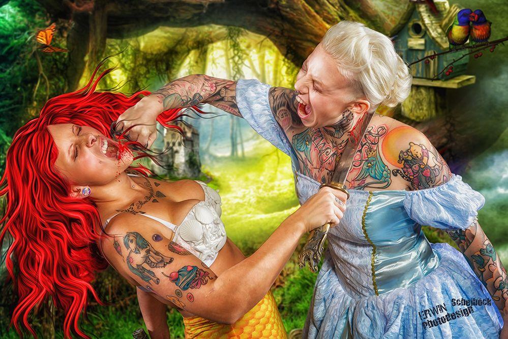 Arielle vs.Cinderella