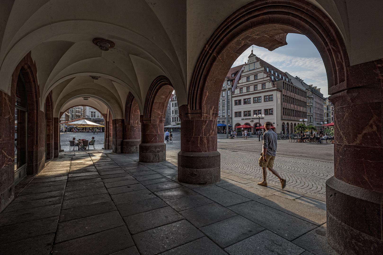 Arkaden am alten Rathaus