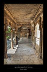Arkaden des Badi Mahal