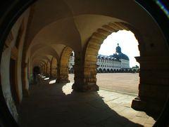 Arkaden des Gothaer Schlosses Friedenstein