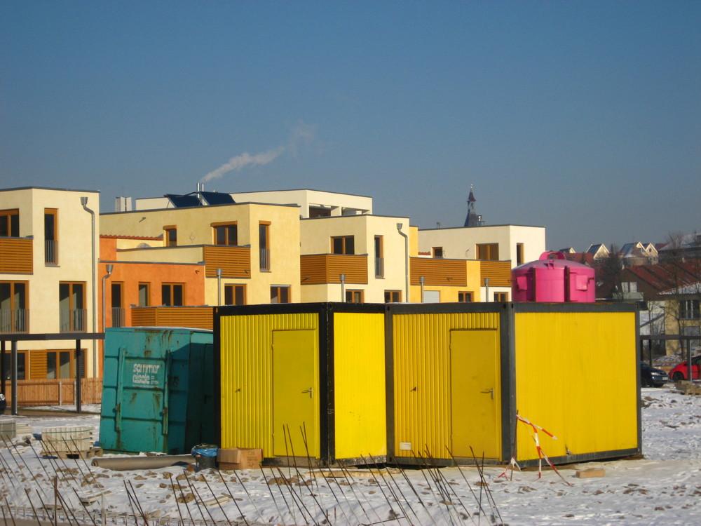 Arkadien-Baustelle in Winnenden