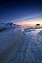 Arktische Nacht