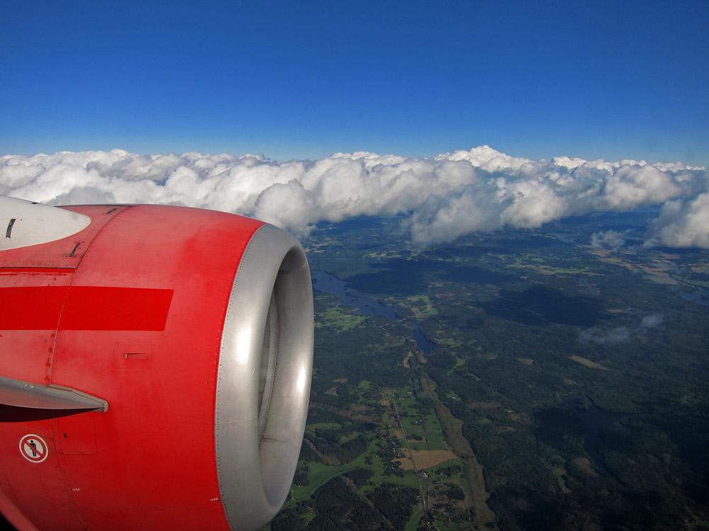 Arlanda approach