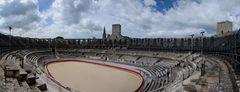 Arles Amphitheater Panorama