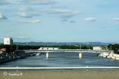 Arles - Brücke über die Rhone