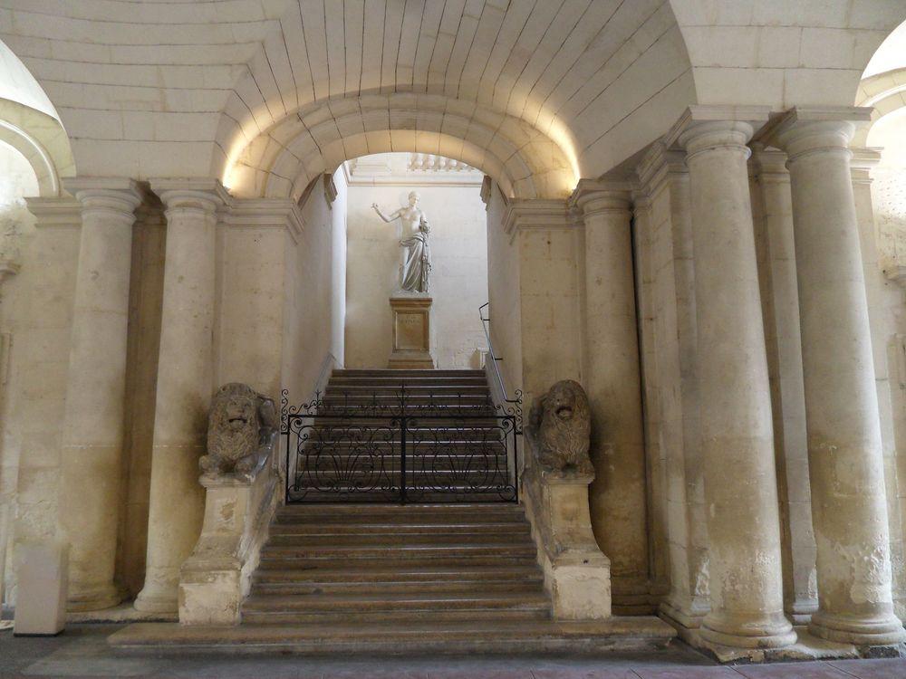 Arles, intérieur de l'hôtel de ville