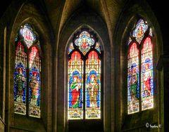Arles - Kathedrale St. Trophime - Kirchenfenster
