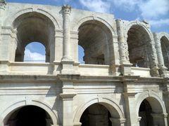 Arles, les arènes ....