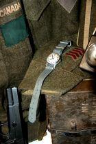Armbanduhr aus dem zweiten Weltkrieg.