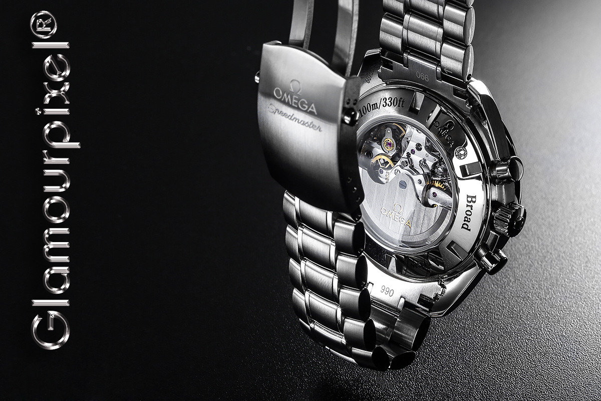 Armbanduhr mit Glasboden