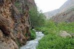 Armenien: In der Schlucht des Flüsschens Amaghu,