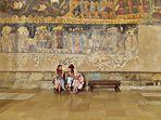 Armenien , Kloster Chor Virap  in der Ararat Ebene