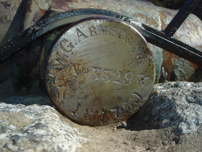 Armstrong gun 1877data