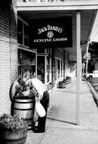 Armut in der Heimat von Jack Daniels, Lynchburg, TN
