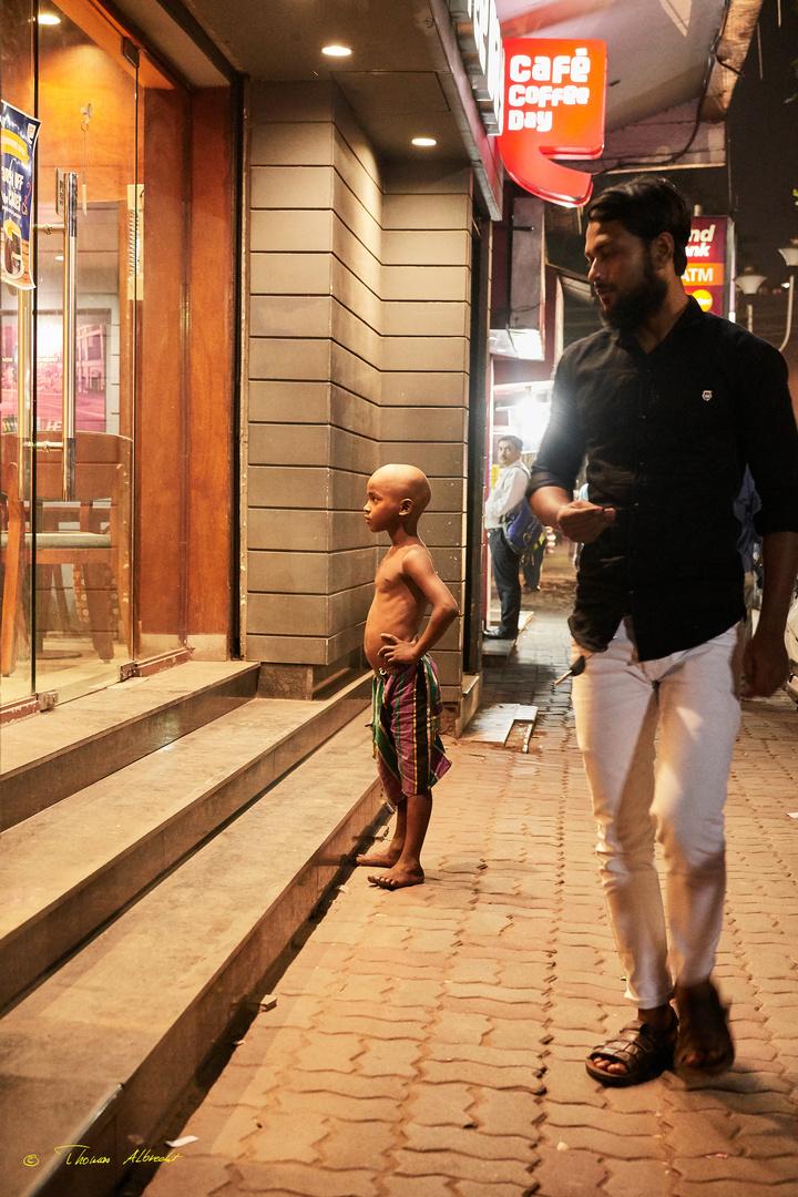 Armut in Kalkutta