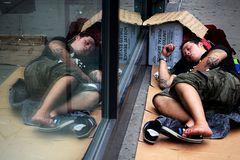 Armut in NY