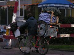 Armut von heute - Clochard auf Reisen ....
