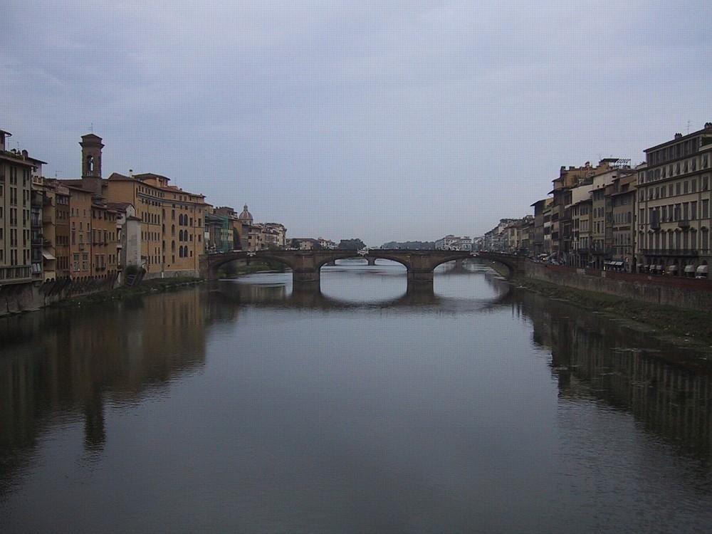 Arno Brücke in Florenz