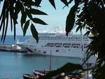 A'Rosa im Hafen von Funchal