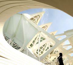 Arquitectura con mujer