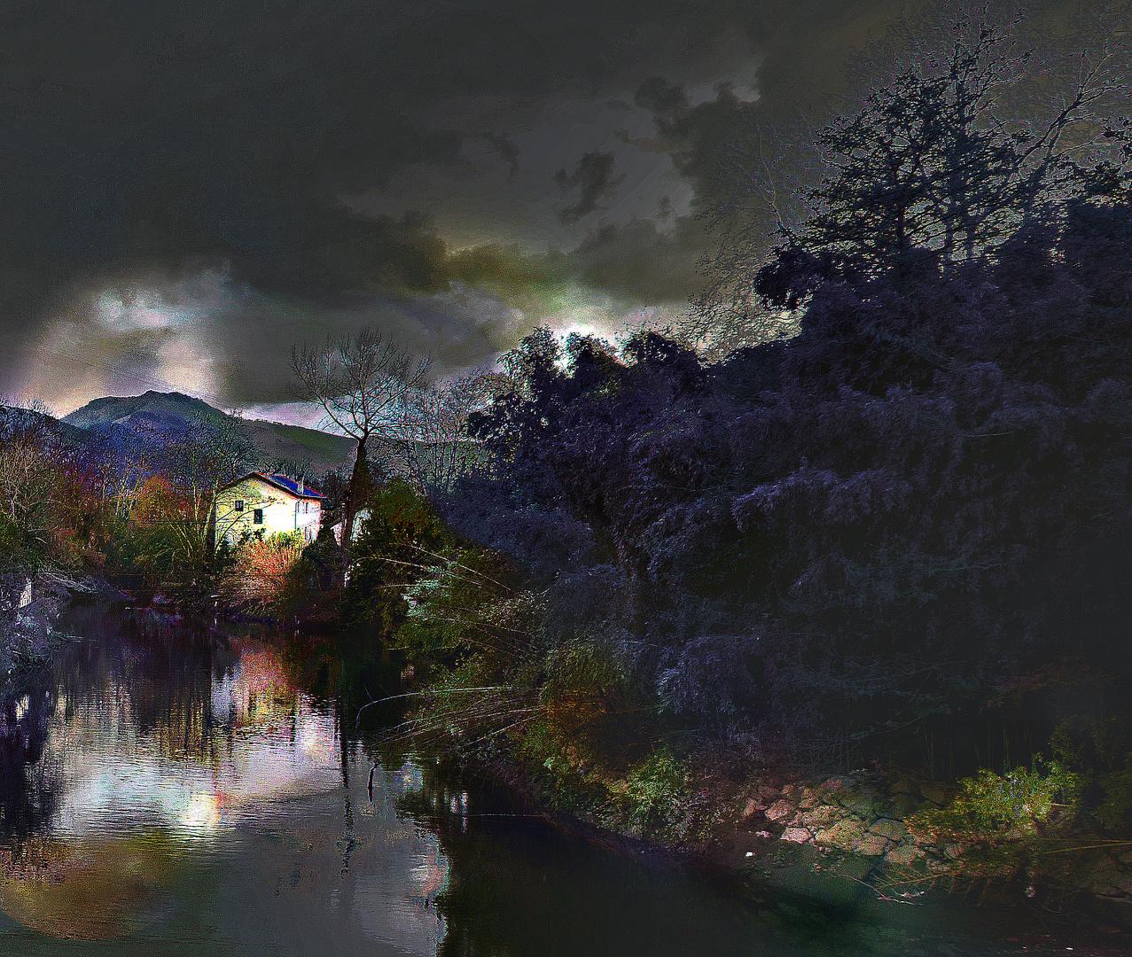 Arratsaldean (noche/anochecer)