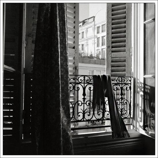 arrière-cour à Montmartre