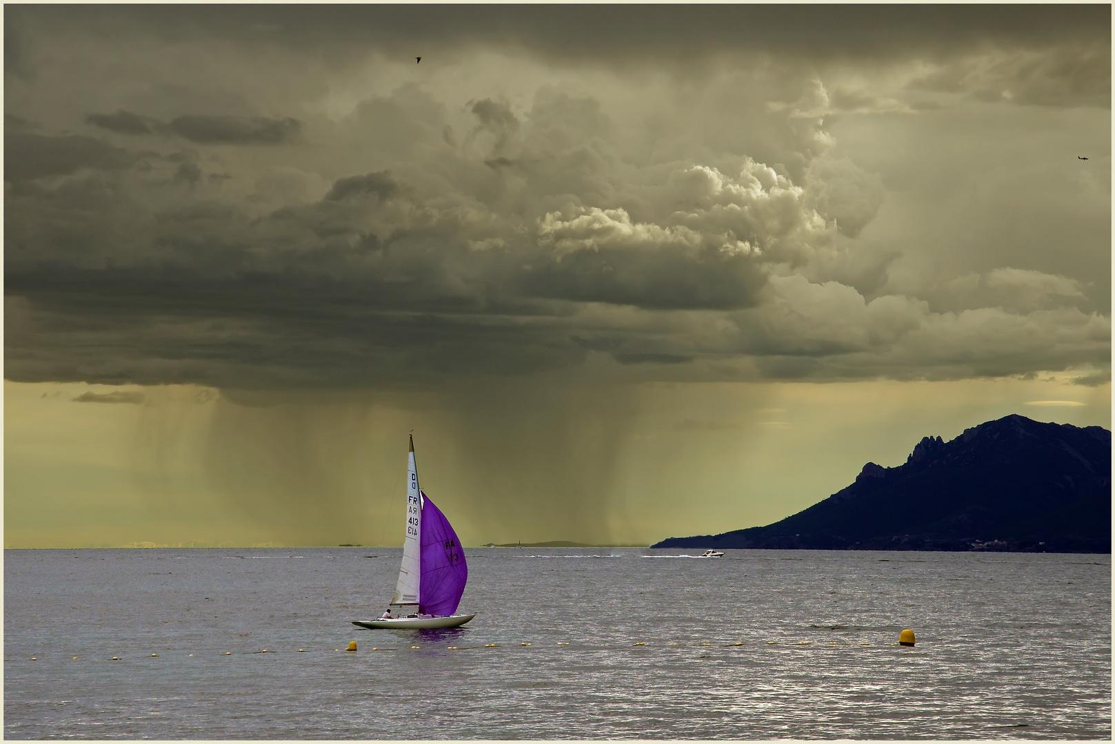 arriva il temporale....