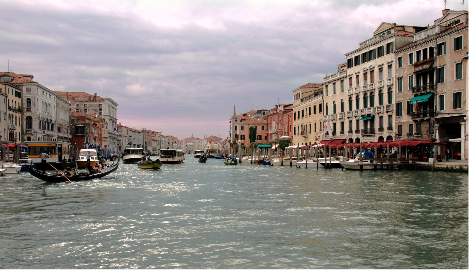 Arrivederci Venezia...