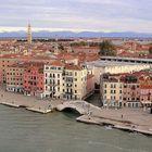 Arrivée à Venise .