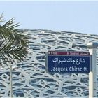 Arrivée devant Le Louvre d'Abu Dhabi