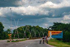 Arriving Guantánamo city