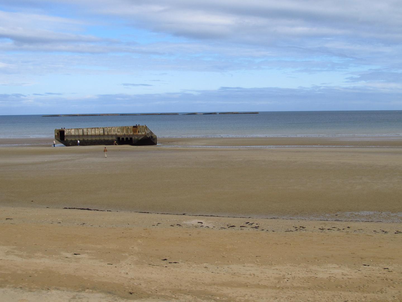 Arromanches D Day Foto Bild Landschaft Meer Strand Natur