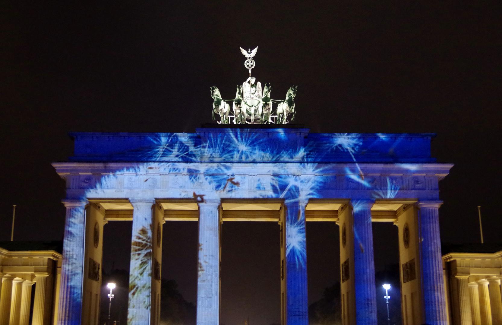 Art of Lights - Berlin 2014 - Brandenburger Tor