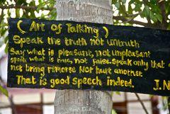 art of talking, luang prabang, laos 2010