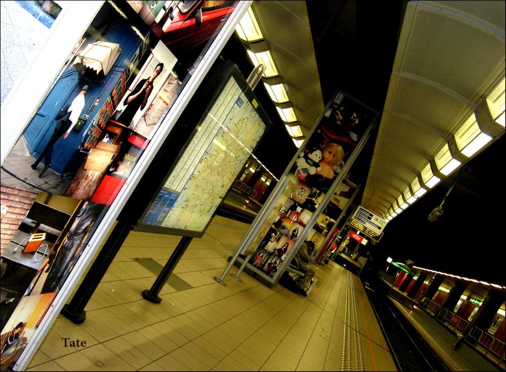 Arte fotográfico en el metro