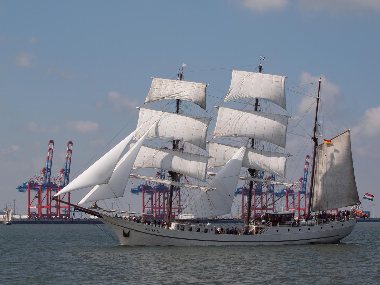 Artemis beim Jade Weser Port Cup vor Wilhelmshaven